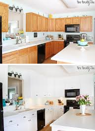 Kitchen Cabinets With Knobs by Kitchen Cabinet Makeover Reveal