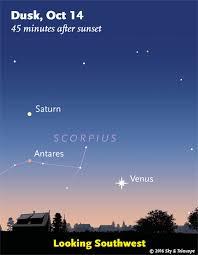Bright Light In Western Sky This Week U0027s Sky At A Glance October 14 U2013 22 Sky U0026 Telescope