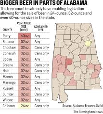 Counties In Alabama By Size Bigger Container Bill Awaits Vote In Alabama House Al Com