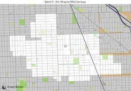 Chicago Ward Map Map Of Building Projects Properties And Businesses In The 31st
