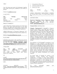 Example Of Application Letter For Ojt In Hotel   best hotel