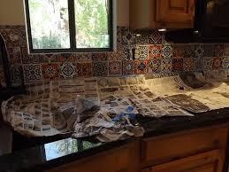 how to do backsplash in kitchen mexican tile backsplash