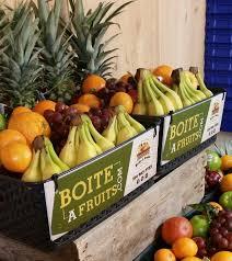 boîte à fruits livraison de fruits au bureau livraison de
