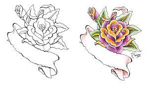 rose scroll by kauniitaunia on deviantart