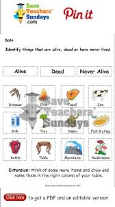 living dead and never alive worksheet go to http www