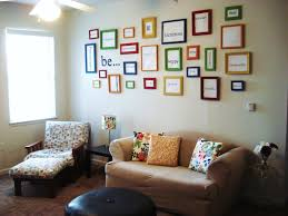 enchanting schemes of living room presenting many assorted color