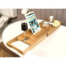 Wine Glass Holder For Bathtub Shelves Shelf Storage With Its Golden Color And Minimalist