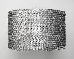 soda can tab large drum shade the 3 r u0027s blog