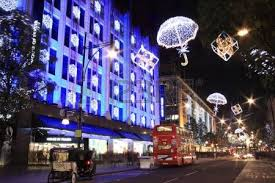 Christmas Decorations Oxford Street - london uk u2013 november 1 2011 christmas decorations on the