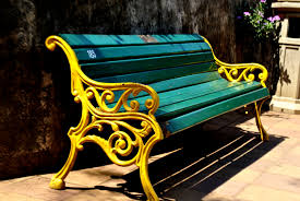 Painting Outdoor Wood Furniture Bench Outdoor Bench Paint Colors How To Paint Outdoor Wood