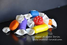 How To Make Sweet Decorations Make A Cake Series Fondant Candy Make It And Love It