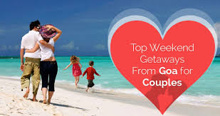 the top 15 weekend getaways from goa for couples