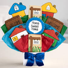 Housewarming Cookies Housewarming Cookie Bouquet Welcome Home Gift Baskets