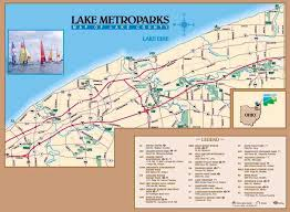 Lake Erie Map Headlands Dunes State Nature Preserve Hiking Trail Pictures