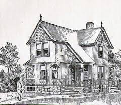100 old victorian house plans george f barber homes