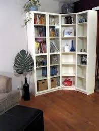 probably billy bookcases think about a corner bookcase basement