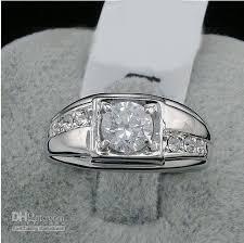 men rings wholesale images New fashion 2016 swarovski crystal men ring white 18k gold jpg