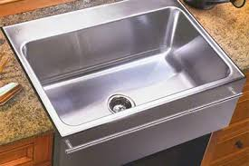 Drop In Farmhouse Kitchen Sinks Just Mfg Large Stainless Steel Apron Front Single Bowl Drop