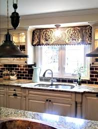 kitchen valance ideas valances for kitchen windows decor with best 20 kitchen