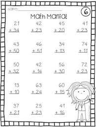 subtraction worksheet two digit subtraction with some