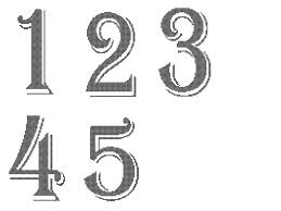 wedding table number fonts wedding table numbers cross stitch pattern cross stitch table