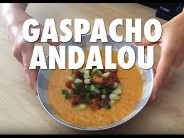 recette cuisine gaspacho espagnol gaspacho andalou recette de cuisine espagnole