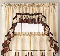 theme valances vino tuscany swag valance wine theme kitchen home decor 38 x60