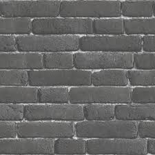 brick 3d effect wallpaper in charcoal j30109