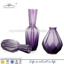 different types of purple hand blown different types purple glass vase buy glass vase