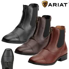 ariat challenge square toe zip paddock boot free uk shipping