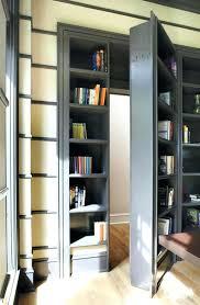 Bookcase Closet Doors Closet Bookcase Door Plans Bookcase Build Secret