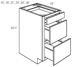3 Drawer Base Cabinet Hetch U0027s Yarmouth Raised Drawer Price Catalog