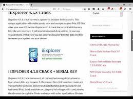iexplorer 4 1 8 torrent working serial 2018