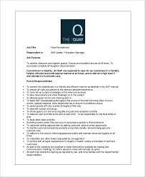 secretary job description sample resume how to write a cover