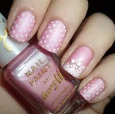 prettyfulz blue polka dot nail art love letter nails 65 most
