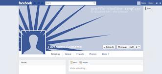 10 best images of facebook timeline profile template facebook