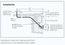 pool light transformer wiring diagram white led install u2013 boss