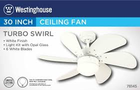 How To Wire A Ceiling Fan With Light Westinghouse 30 Inch Indoor Ceiling Fan With Light