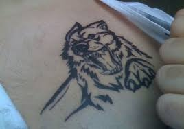 horror wolf tribal design http heledis com the meaning