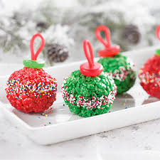 marshmallow treat ornaments recipes pered chef us site