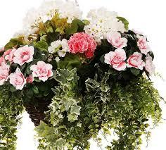 artificial flower best 25 artificial hanging baskets ideas on