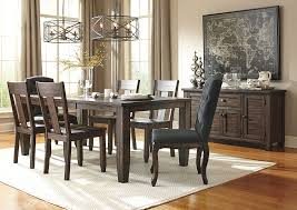 Side Chairs For Dining Room by Furniture World Nc Trudell Golden Brown Rectangular Dining Room