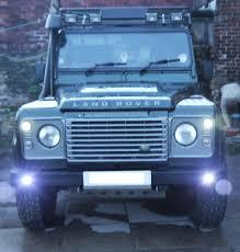 1995 land rover defender interior led land rover defender daytime running lights u0026 side lights set