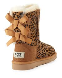 ugg sale dates lyst ugg leopard print bailey boot in brown