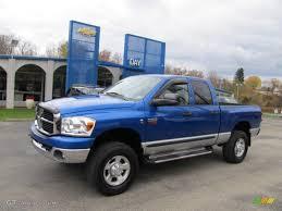 2007 electric blue pearl dodge ram 2500 slt quad cab 4x4 38917325