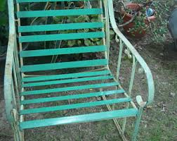 vintage patio chair etsy