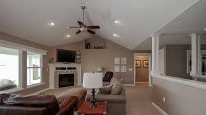 Cathedral Ceilings In Living Room by Great Rooms Harlow Builders Inc