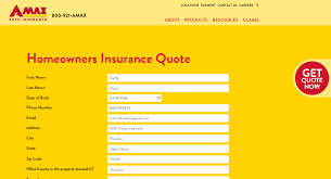 free amax homeowners insurance quote