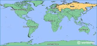 russia map border countries where is russia where is russia located in the world russia