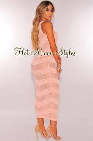 blush maxi dress blush knit see through lace up cover up maxi dress